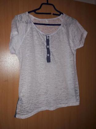 Tshirt Gr M neuwertig luftiger Stoff Damen Shirt luftig leicht