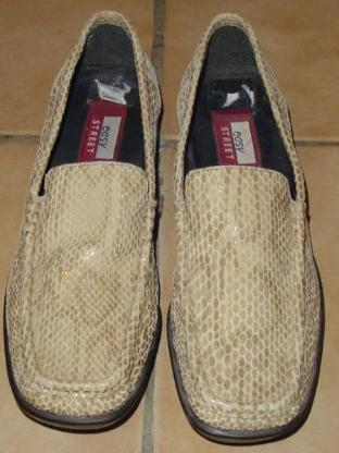 Easy Street Halbschuhe Gr. 38 Schlangenmuster beige Schuhe – 564