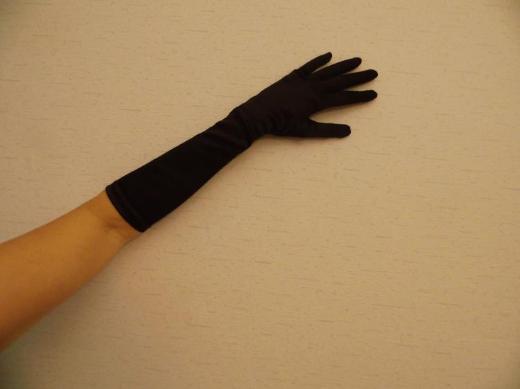 Handschuhe schwarz Hochzeit Party Silvester