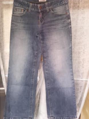 Jeanshose in blau zu verkaufen