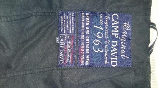 Original Camp-David Jacke zu verkaufen