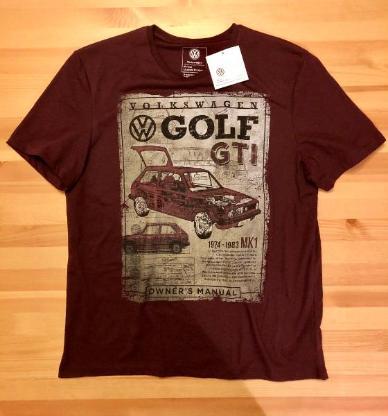 VW Golf GTI Fan-T-Shirt