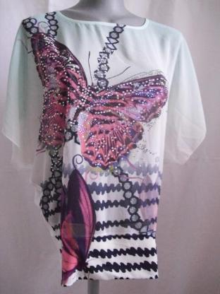 T-Shirt Butterfly Gr. 38 NEU