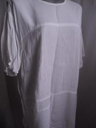 Longshirt No Problem weiß Stretch Gr. L