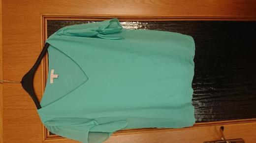 T-Shirt esprit, türkis, Größe 40