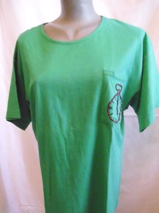 Damen T-Shirt Gr. 44 grün