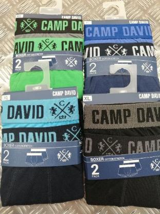 Camp David Boxershorts in M, L, XL, XXL
