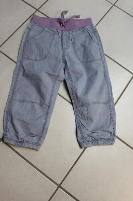 blaue Stoffhose von H&M Größe 146 (Jeansoptik)