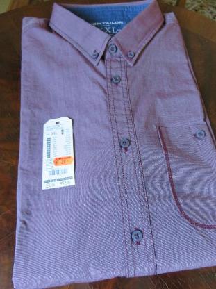 neues langärmeliges Hemd von Tom Tailor, Gr. XXL