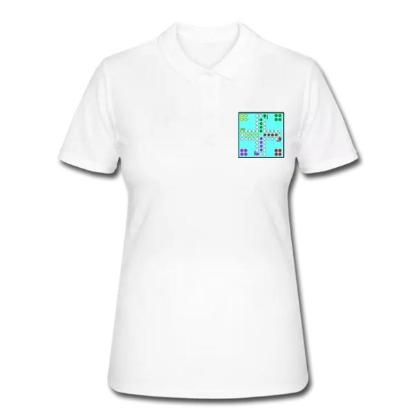 28 Mensch ärgere Dich nicht - Frauen Polo Shirt 34,49 €