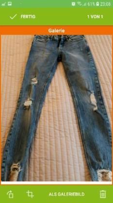 Dame Jeans von Mango.