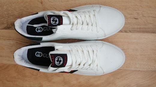 Herren Sportschuhe  Sneaker 41 weiß