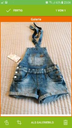 Latz Jeans shorts.