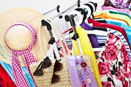 Bild Nachhaltige Mode - Flohmarkt